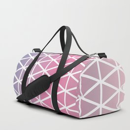 Calming triangle harmony Duffle Bag