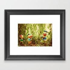 Duck Tales 2 Framed Art Print