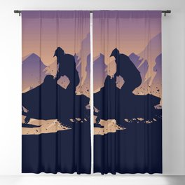 Snowmobile • My Passion Blackout Curtain