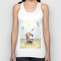 nike Tank Tops featuring Nike by Alex Drubetsky