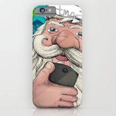 #santa#selfie iPhone 6s Slim Case