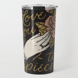 Love You to Pieces Travel Mug