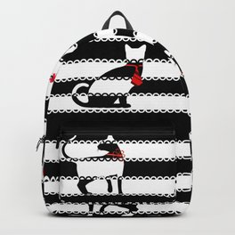 Red Society Cats Backpack