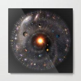 Spherical Universal View Metal Print