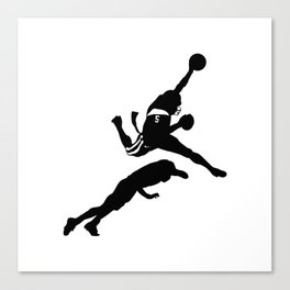 #TheJumpmanSeries, Reggie Bush Canvas Print