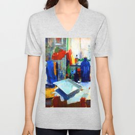 Rik Wouters Dining Table Unisex V-Neck
