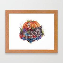 Dreaming of Autumn Framed Art Print