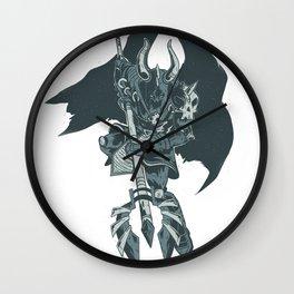 Nightmare Demonic Knight Wall Clock