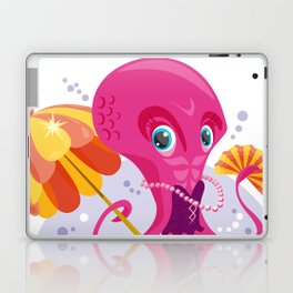Miss Octopus Laptop & iPad Skin