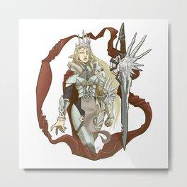 Winterbringer's Tale Metal Print