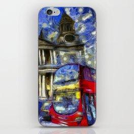Vincent Van Gogh London iPhone Skin