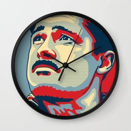 "Aldo the Apache ""Hope"" poster Wall Clock"