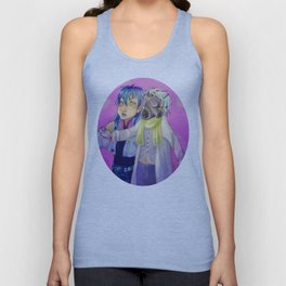 Watch out! Clear and Aoba Unisex Tank Top