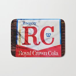 RC Cola Sign Bath Mat