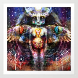 Glaem - Luminous Beauty Art Print