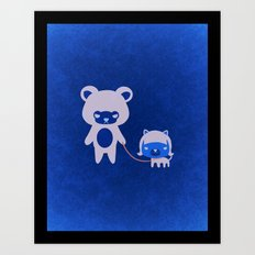 DORI & CHAO   Art Print