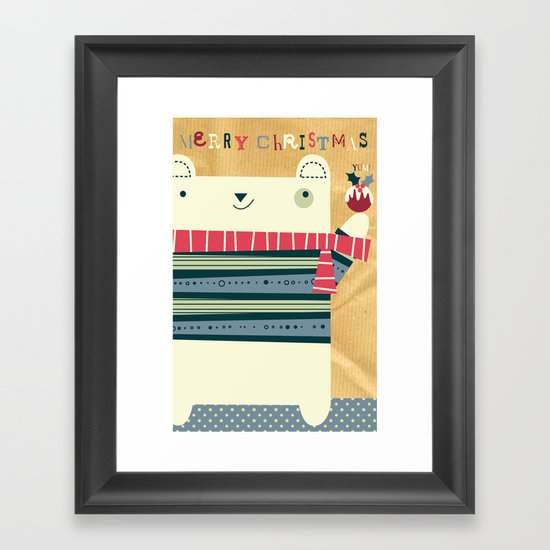 Merry Chrissy Framed Art Print