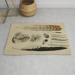 Naturalist Feathers Rug