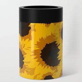 Sunflower Love Can Cooler