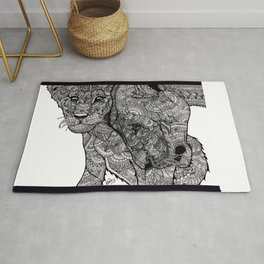 A Mother's love Rug
