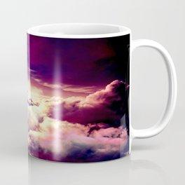 Mystic clouds. Mauve Coffee Mug