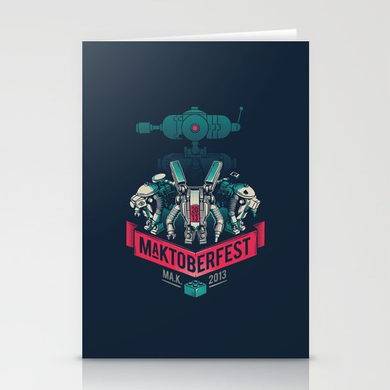 MaKtoberfest 13 Stationery Cards