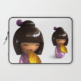 Kokeshi 04 Laptop Sleeve