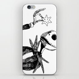 Jack for Christmas iPhone Skin