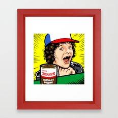 Stranger Pudding Framed Art Print
