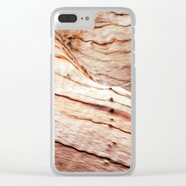 Cafe Dreaming Clear iPhone Case