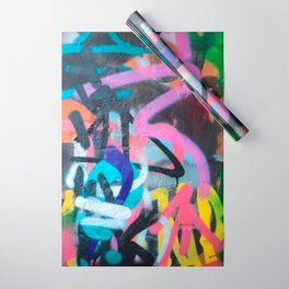 Street Art Graffiti Photography by Dominic Joyce Wrapping Paper