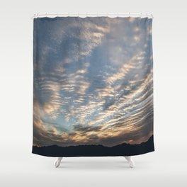 """Sunrise Horizon 1"" by Murray Bolesta Shower Curtain"