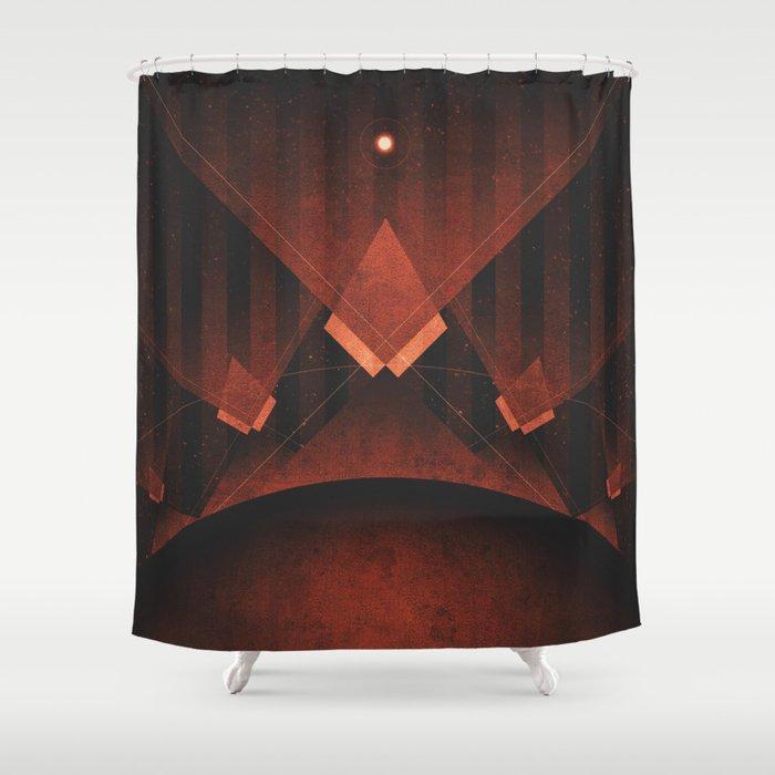 Triton - Tritonian Geysers Shower Curtain