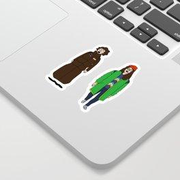 Broad City - Mushrooms Sticker