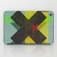 cross iPad Cases featuring CROSS by Metron