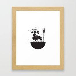 The Great Wild Framed Art Print