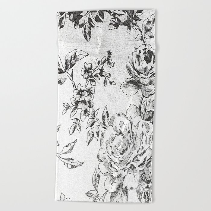 Fabrication Beach Towel
