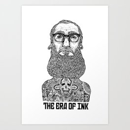 ERA OF INK Art Print
