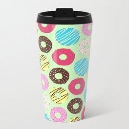 Donut Metal Travel Mug