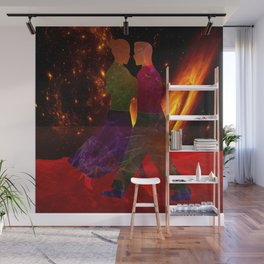 Dancing to the End of time Wall Mural