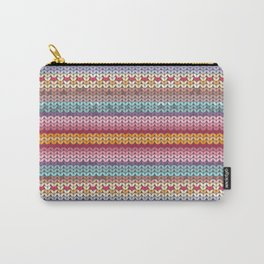 knitting pattern Carry-All Pouch