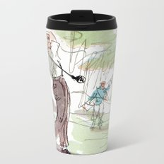 Are You Looking At My Putt? Metal Travel Mug