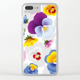 Bloom Floral Clear iPhone Case