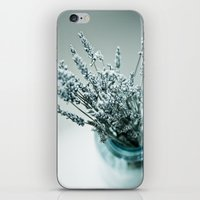 lavender iPhone & iPod Skins featuring Lavender  by Photography by Debbie Aruta