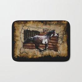 The Pony Express Bath Mat