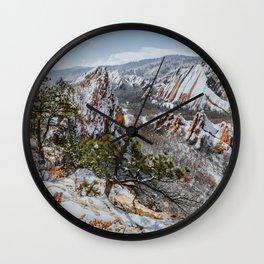 Roxborough State Park, Colorado Wall Clock