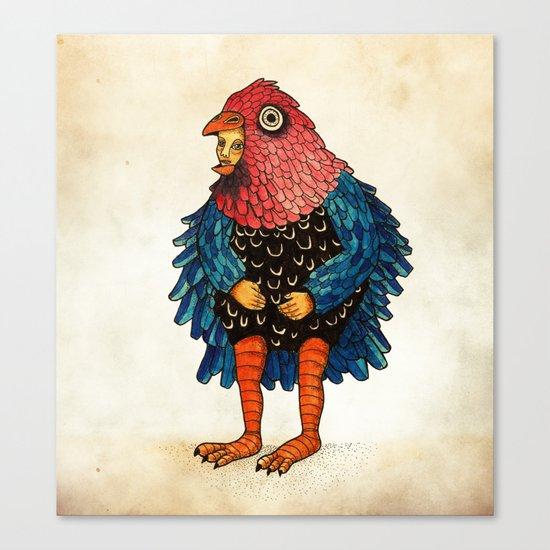 El pájaro Canvas Print