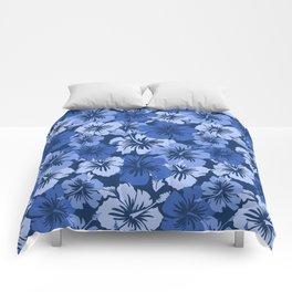 Epic Hibiscus Hawaiian Floral Aloha Shirt Print Comforters