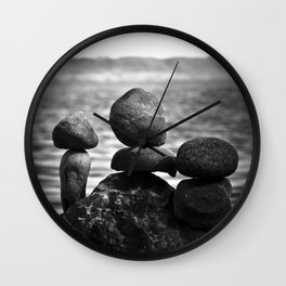 together alone Wall Clock
