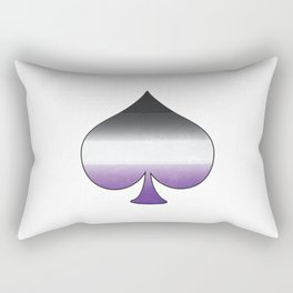 Asexual Ace Rectangular Pillow